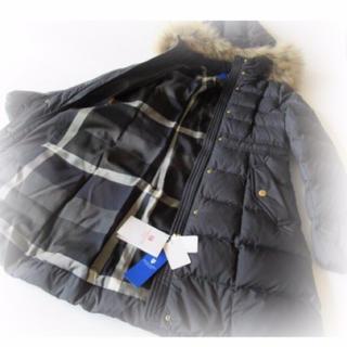 BURBERRY BLUE LABEL - 売り切り大特価★Mサイズ★新品バーバリーロングダウンジャケット
