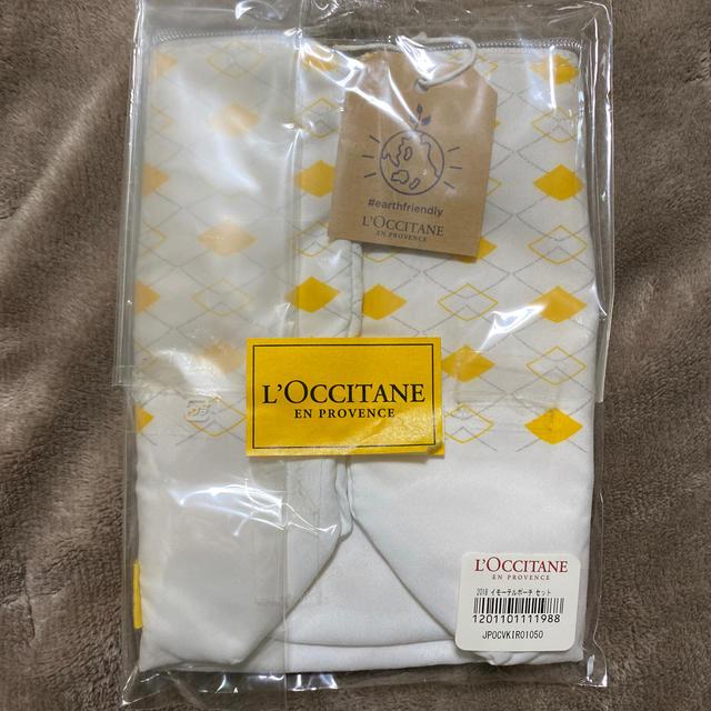 L'OCCITANE(ロクシタン)のロクシタン ポーチ ノベルティ 非売品 コスメ/美容のメイク道具/ケアグッズ(その他)の商品写真