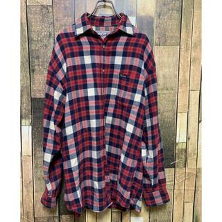 ウールリッチ(WOOLRICH)のウールリッチwoolrich チェックシャツ ワンポイント(シャツ)