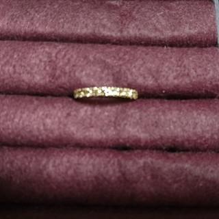 指輪 k18 ピンクゴールド ダイヤモンド(リング(指輪))