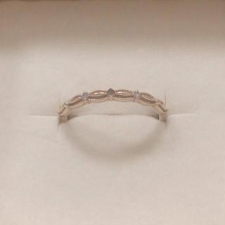 アガット(agete)のagete  ダイヤ リング 難あり(リング(指輪))