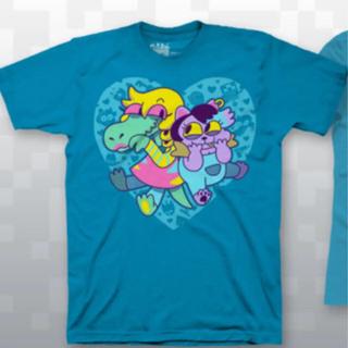 プレイステーション4(PlayStation4)のUndertale アゲアゲキティ Tシャツ XLサイズ(Tシャツ/カットソー(半袖/袖なし))