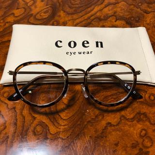 コーエン(coen)のeye wear    伊達メガネ(サングラス/メガネ)