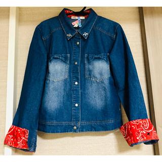 イッカ(ikka)のデニムシャツ ikka サイズ145〜155  美品(ジャケット/上着)