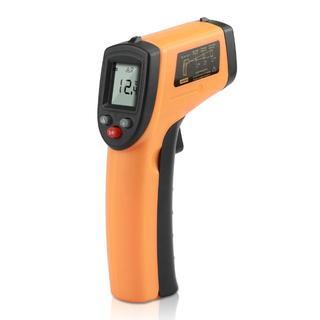赤外線 放射温度計 -50~+380℃ IR 非接触 デジタル ガンテスター