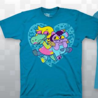 プレイステーション4(PlayStation4)のUndertale アゲアゲキティ Tシャツ(Tシャツ/カットソー(半袖/袖なし))