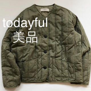 TODAYFUL - todayful  キルティングコンパクトブルゾン