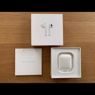 Apple - 【ケーブル未使用!!】Apple Airpods 第1世代  MMEF2J/A