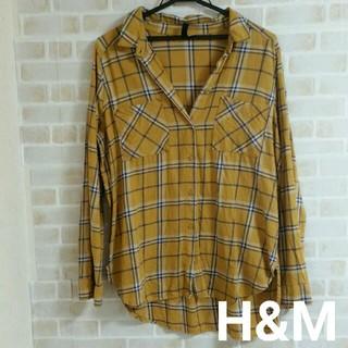 H&M - 【本日削除/最終値下げ】H&M  チェック シャツ