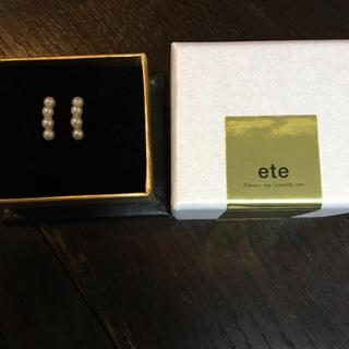 ete - エテパールイヤリング