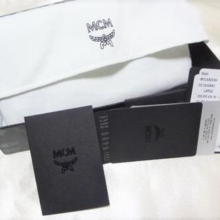 エムシーエム(MCM)の未使用保管 『MCM』ラウンドファスナー財布(長財布)