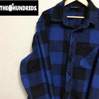 THE HUNDREDS ヘビーウエイト ネルシャツ(シャツ)