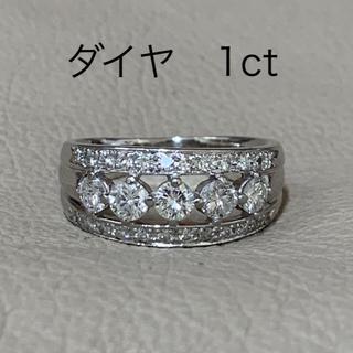 プラチナ ダイヤモンド リング  PT900