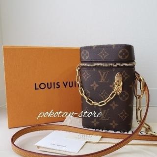 LOUIS VUITTON - 新品同様【ルイ・ヴィトン】モノグラム フォーンボックス ショルダーバッグ