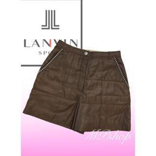 ランバン(LANVIN)の美品♡ランバン スポーツ LANVIN 中綿 ハーフパンツ ゴルフウェア(ウエア)