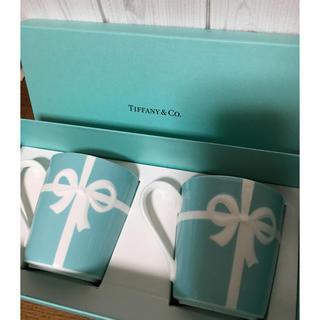 Tiffany & Co. - ティファニーペアマグカップ♡新品未使用