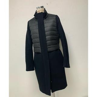 ダブルスタンダードクロージング(DOUBLE STANDARD CLOTHING)のダブルスタンダードクロージング 36 ドッキングコート 切替 ブラック(ロングコート)