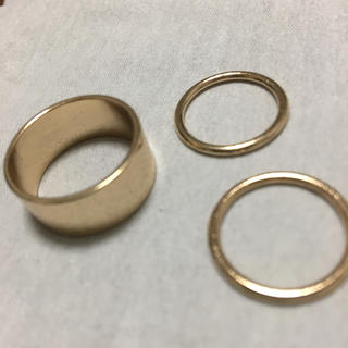 リング ゴールド(リング(指輪))