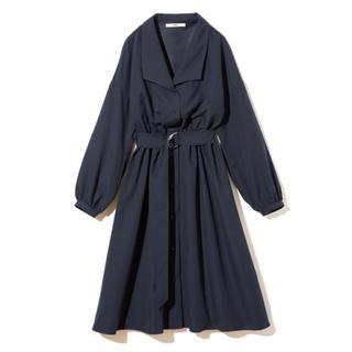 GRL - GRL ベルト付ボリュームスリーブシャツワンピース 新作 韓国ファッション
