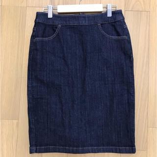 NATURAL BEAUTY BASIC - デニムタイトスカート