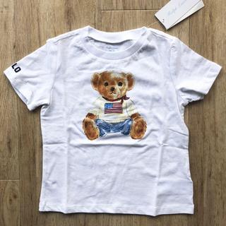 Ralph Lauren - ベビーベア 白 Tシャツ 90