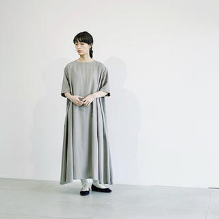 ヤエカ(YAECA)のS.F. linen one piece(ロングワンピース/マキシワンピース)