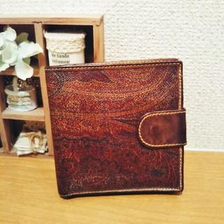 【正規品】 エトロ 折財布