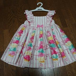 Shirley Temple - 【値下げ】シャーリーテンプル 限定 アイスタワー ワンピース ジャンパースカート