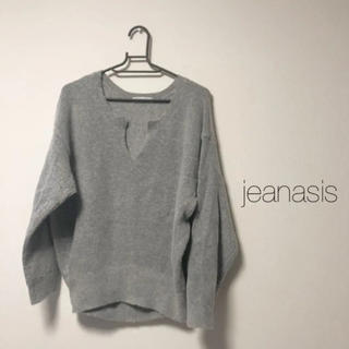 JEANASIS - jeanasis 7Gキーネックプルオーバー