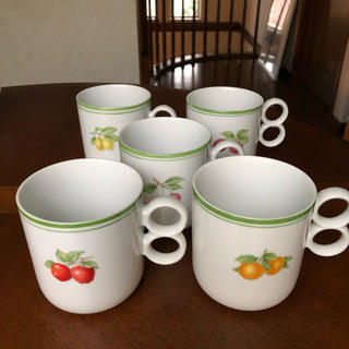 タチキチ(たち吉)のアダム&イブ★マグカップ★5個(食器)