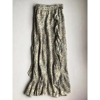 イザベルマラン(Isabel Marant)のイザベルマラン マキシ スカート トゥモロー plage drawer mame(ロングスカート)