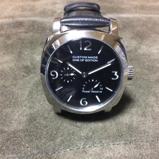 OFFICINE PANERAI - CUSTOM MADE ONE OF EDITION パワーリザーブ