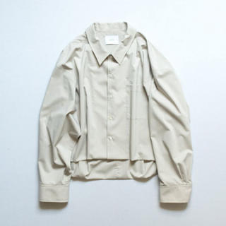 SUNSEA - stein SHORT LENGTH CARDIGAN SHIRT