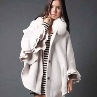 ダブルスタンダードクロージング(DOUBLE STANDARD CLOTHING)の🌼美品🌼ダブルスタンダードクロージング🌼ポンチョコート(毛皮/ファーコート)
