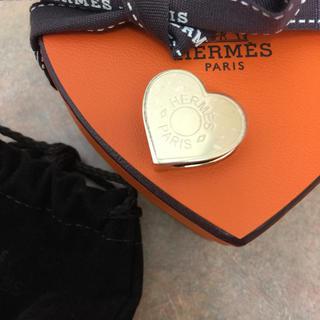 Hermes - 新品 エルメスハートツイリー用リングゴールド