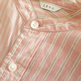 ヤエカ(YAECA)のleno&co バンドカラーシャツ、(シャツ/ブラウス(長袖/七分))