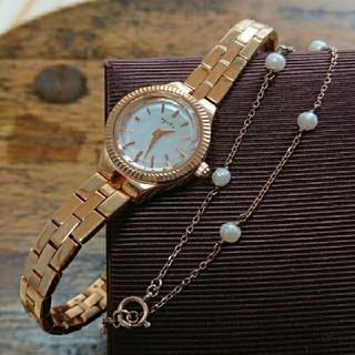 アガット(agete)のagete 腕時計 ブレスレット セット アガット ノジェス ヴァンドーム(腕時計)