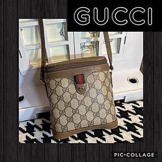 Gucci - 正規品꙳★美品GUCCIグッチオールドグッチ✧︎GGプラス筒型ショルダーバッグ