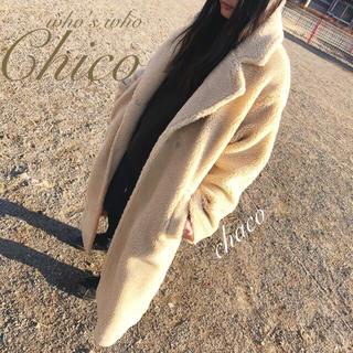 who's who Chico - 🐰¥18480🐻【Chico】BIGボアコート オーバーサイズボアコート