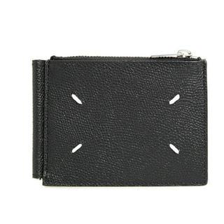 Maison Martin Margiela - 新品 メゾンマルジェラ グレインレザー マネークリップ付き 二つ折り 財布