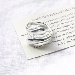 TODAYFUL - 大人気なため再入荷!tear drop ring silver925