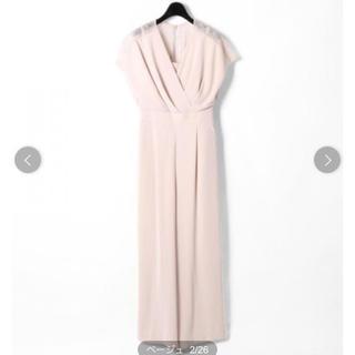 GRACE CONTINENTAL - グレースコンチネンタル   バックレースサロペット オケージョン ドレス