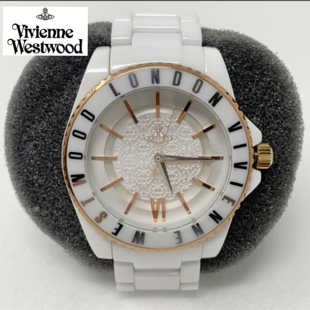 ヴァシュロンコンスタンタン コピー 名入れ無料 / Vivienne Westwood - Vivienne Westwood 腕時計 オーブ ホワイト 白の通販