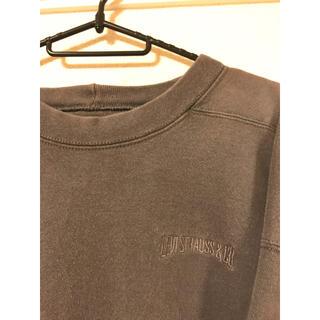 Levi's - 90s リーバイス Levi's チャコールグレー スウェット 刺繍ロゴ ヘビー