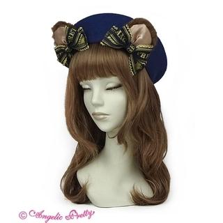 アンジェリックプリティー(Angelic Pretty)の【Angelic Pretty】Dream Ribbon Bearベレー〈コン〉(ハンチング/ベレー帽)