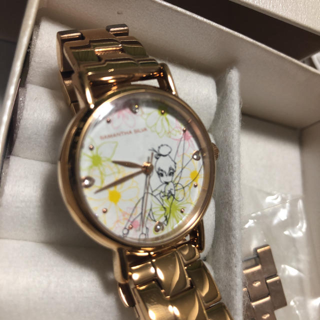 Samantha Silva(サマンサシルヴァ)のサマンサ  ティンカーベル 腕時計 Disney レディースのファッション小物(腕時計)の商品写真