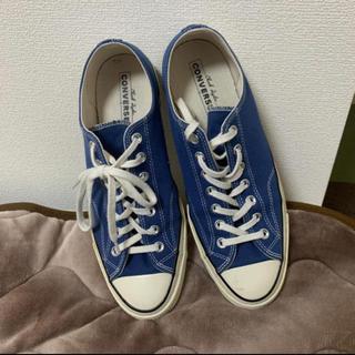 コンバース(CONVERSE)のct70 ブルー(スニーカー)