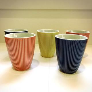 タチキチ(たち吉)のたち吉 陶器コップ 5個セット(食器)