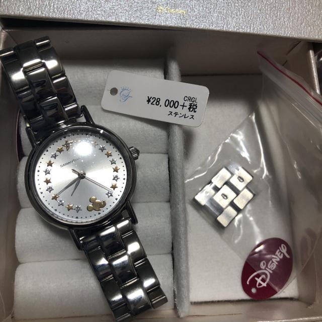 Samantha Silva(サマンサシルヴァ)のサマンサ  ミッキー 腕時計 ミッキー&ミニー smiley Disney レディースのファッション小物(腕時計)の商品写真