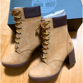 ティンバーランド(Timberland)の新品☆Timberland Camdale 6 Bootヒールブーツ25cm(ブーツ)
